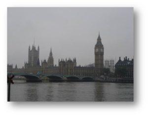 OA Dušní, poznávací zájezd, most přes Temži. Londýn