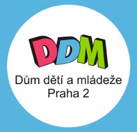 Dům dětí a mládeže Praha 2 - logo