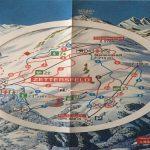 Orientační mapa sjezdovek.