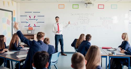 Projekt, jak se stát učitelem němčiny.