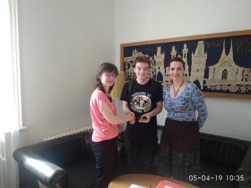 Blahopřání úspěšným účastníkům soutěže.
