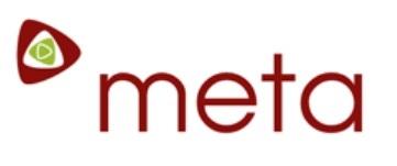 Logo společnosti META.