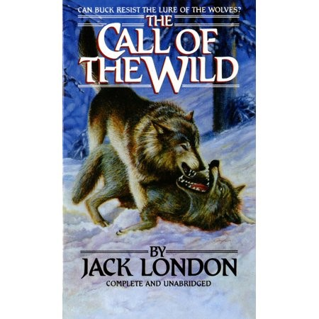 Přebal z knihy Jacka Londona.