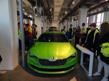 Foto z provozu Škoda Auto.