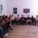 Společná diskuze o problematice začlenění cizinců.