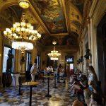Foyer Národního divadla.