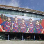OA Dušní, poznávací zájezd, Barcelona, fotbalové dresy