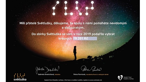 Logo - charitativní akce Světluška.