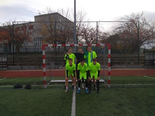 Školní tým futsalové ligy.