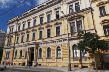 Budova Obvodního soudu pro Prahu 2.