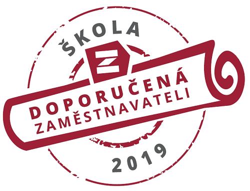 Logo - pečeť udělovaná zaměstnavateli doporučeným školám.