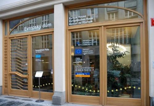Exkurze do Evropského domu v Praze.