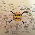Myšlenková mapa - psychické poruchy.