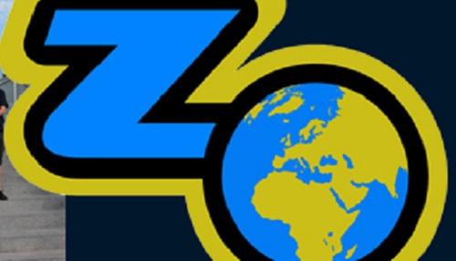 Mapa světa, logo zeměpisné olympiády