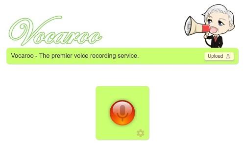 Logo programu Vocaroo